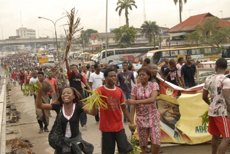 Nigerian students in fierce protest over UNILAG name change | Petition News