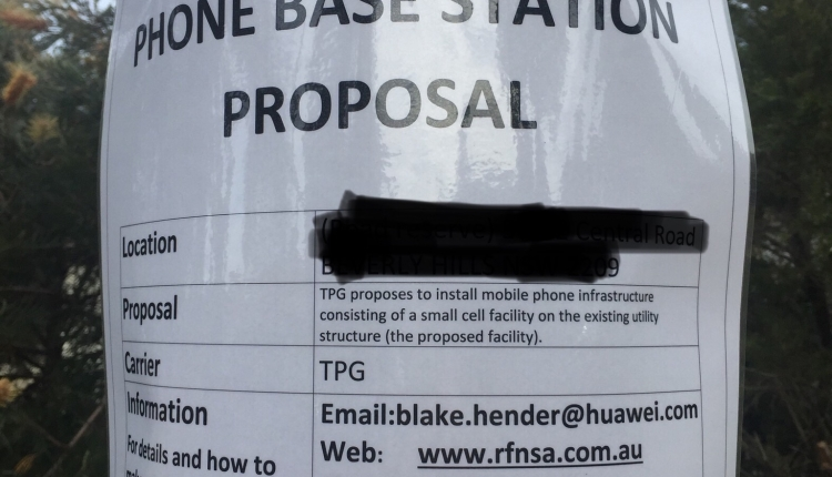 Petition · Stop TPG Installing A Mobile Phone Base Station ...
