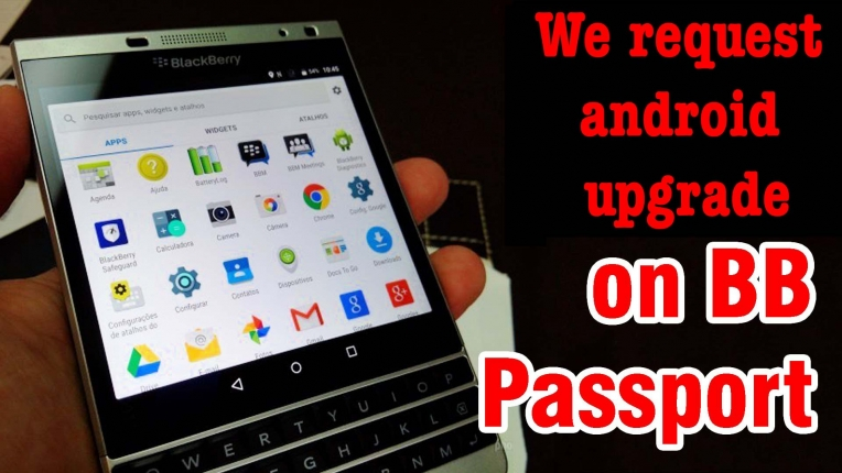 Sign petition: We request android upgrade on BlackBerry