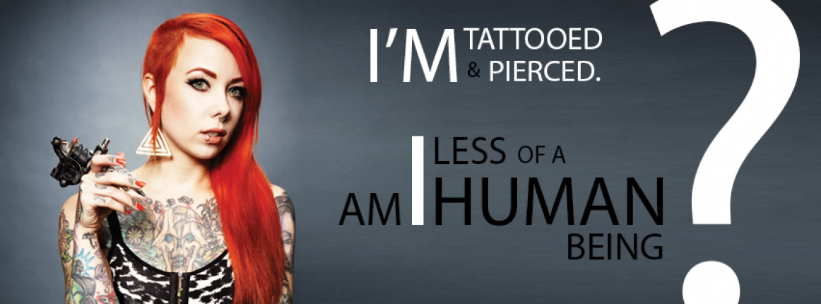 social acceptance of tattoos and piercings